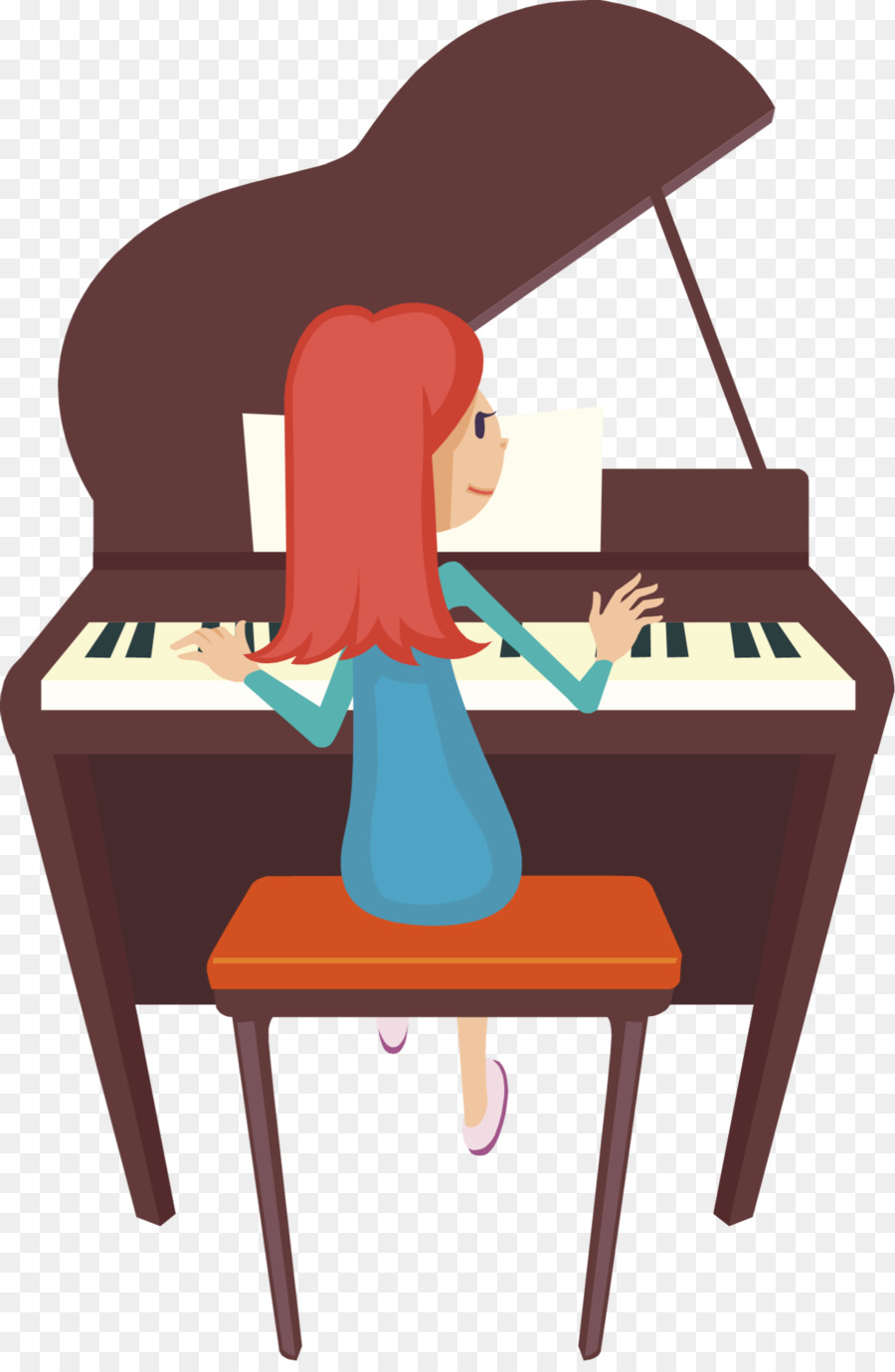Piano Cartoon