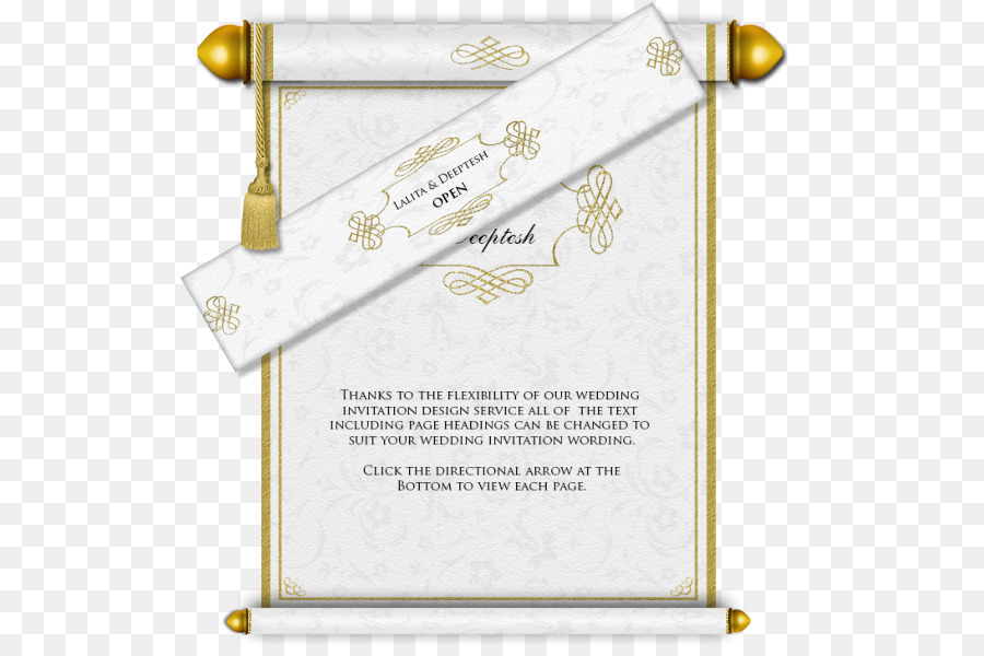 Islamic Wedding Invitation