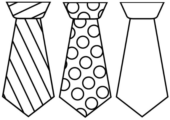 download fathers day tie template clipart father s day necktie