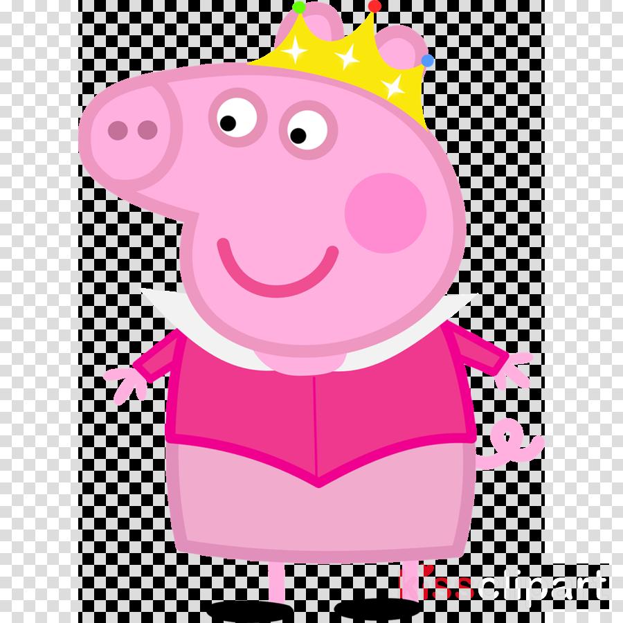 peppa pig princesa png clipart Daddy Pig Mummy Pig