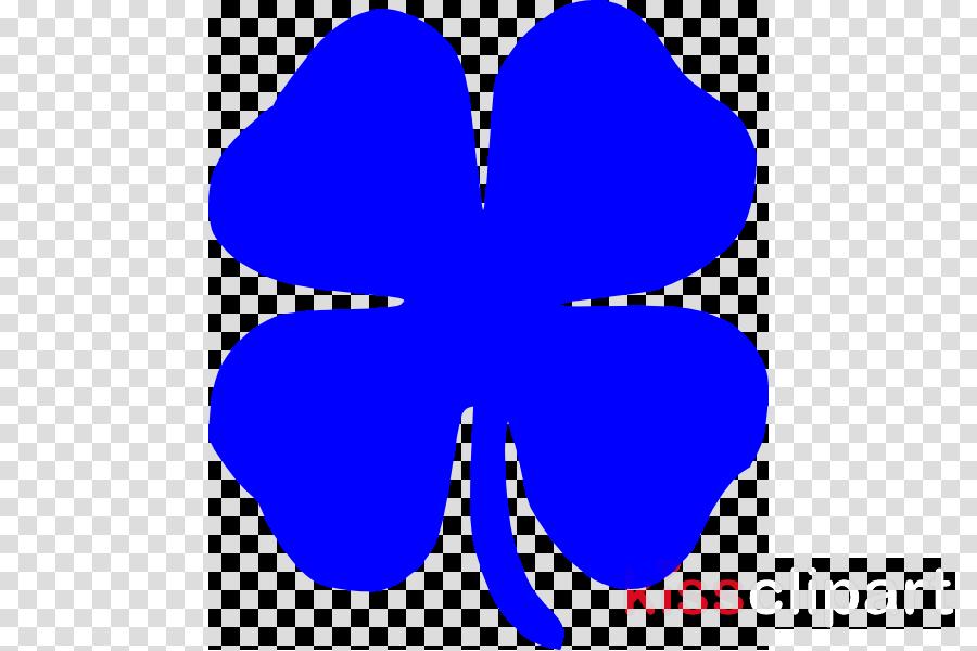 four leaf clover silhouette clipart Four-leaf clover Shamrock