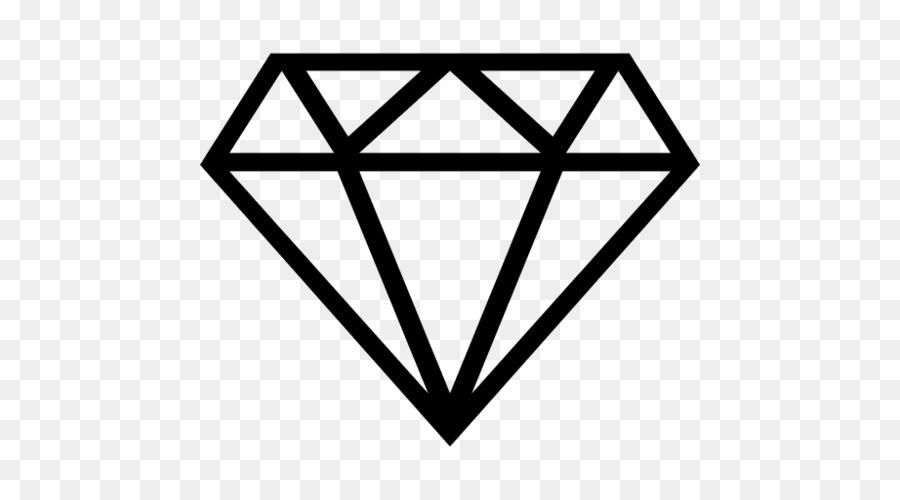 Diamond color. Black line background clipart