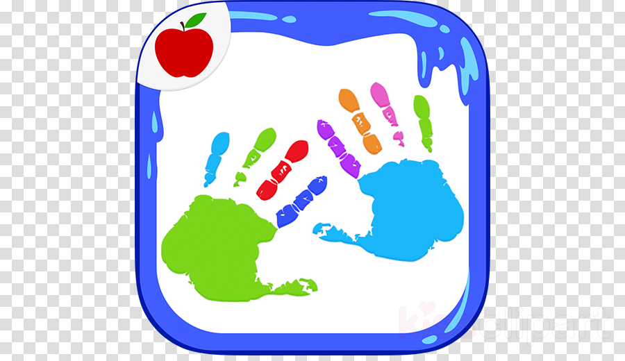 Kids Finger Painting Coloring clipart Kids Finger Painting Coloring Ocean Animals Coloring Book Child