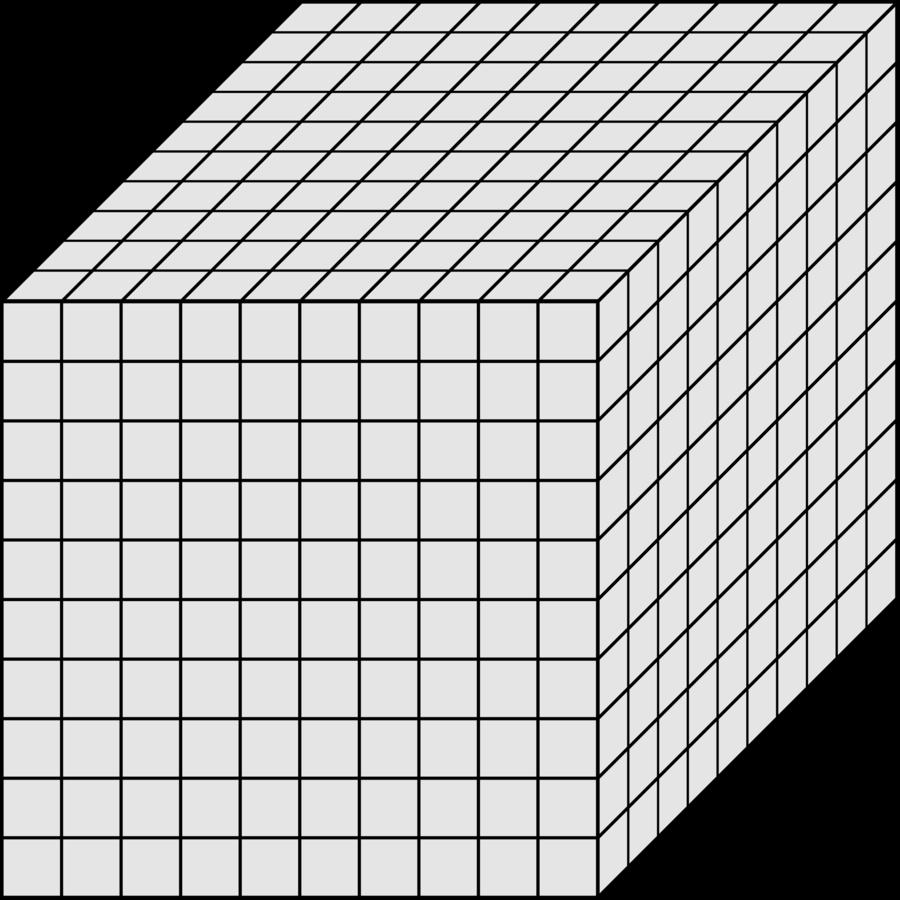 Base Ten Blocks / Place Value Clip Art ~ 120 Images!!   TpT