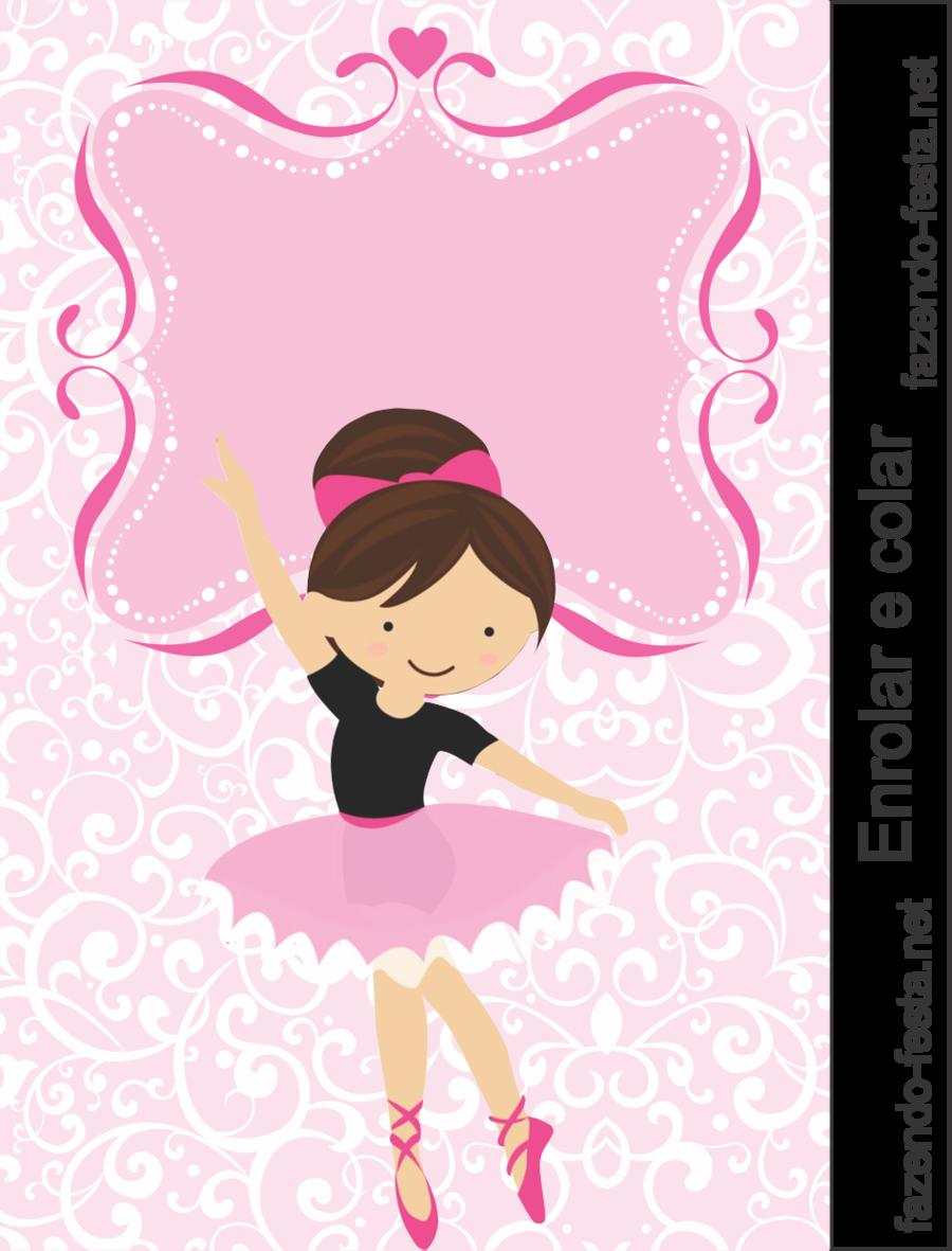 Ballerina Birthday Invitation Clipart Wedding Party