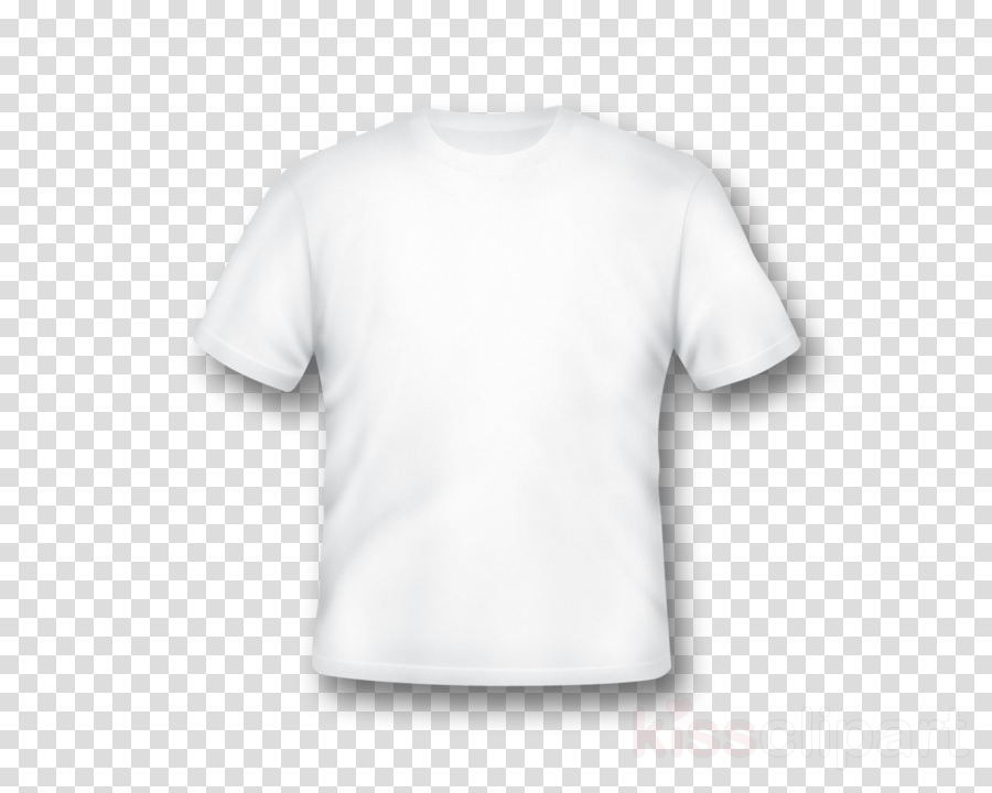 white t shirt template clipart T-shirt