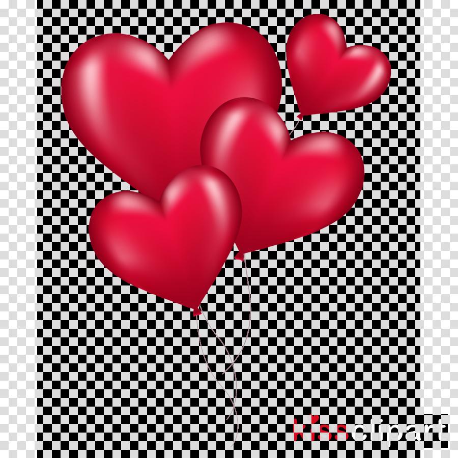 heart balloons png clipart Heart Clip art