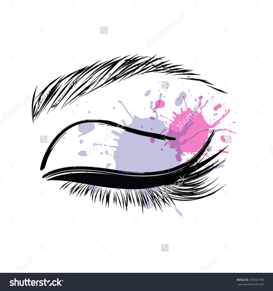 download eyelash extension business cards clipart formation karma beaut eyelash extensions - Eyelash Extension Business Cards