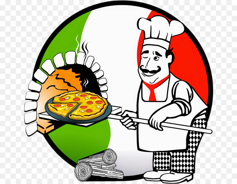 Pizza Chef Food Transparent Image Clipart Free Download