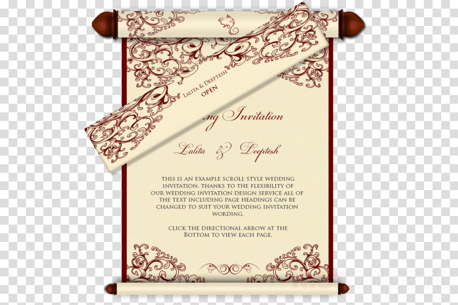 Wedding invitation clipart Wedding invitation Convite