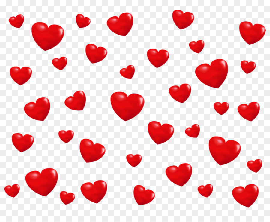 red hearts png clipart Heart Clip art