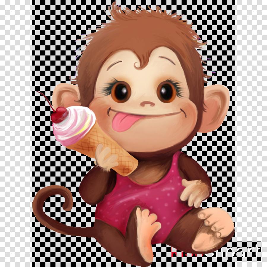 детские картинки обезьянки clipart Primate Monkey Clip art