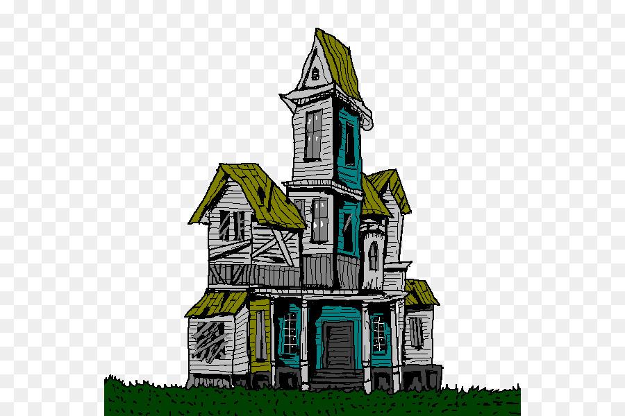 Haunted House Cartoon