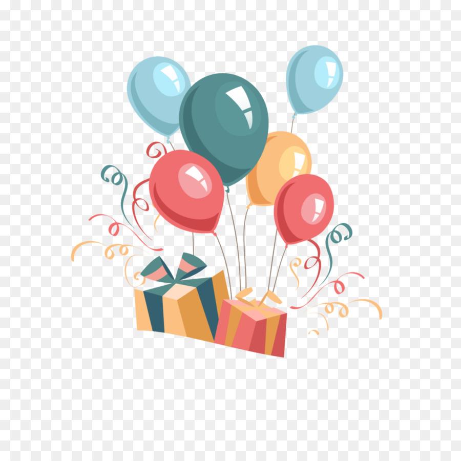 Birthday Balloon Cartoon clipart - Birthday, Sister, Balloon ...