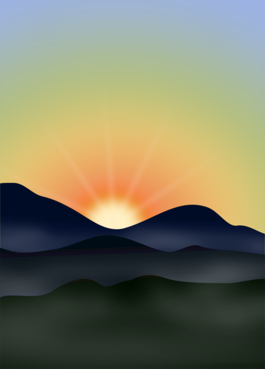 Wolf Howling on sunset background Clipart   k3541911   Fotosearch