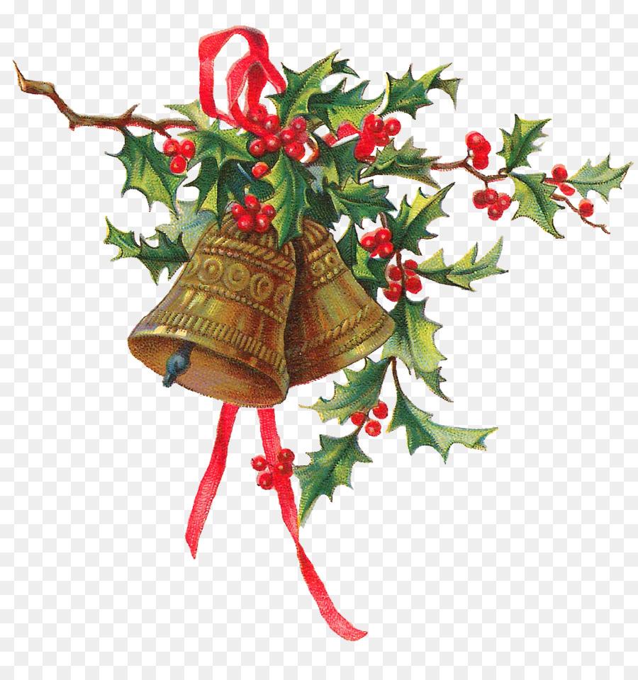 Christmas Holly Cartoon.Christmas Bell Cartoon Clipart Christmas Tree Plant