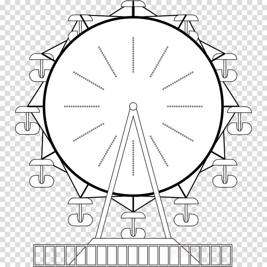 ferris wheel coloring pages