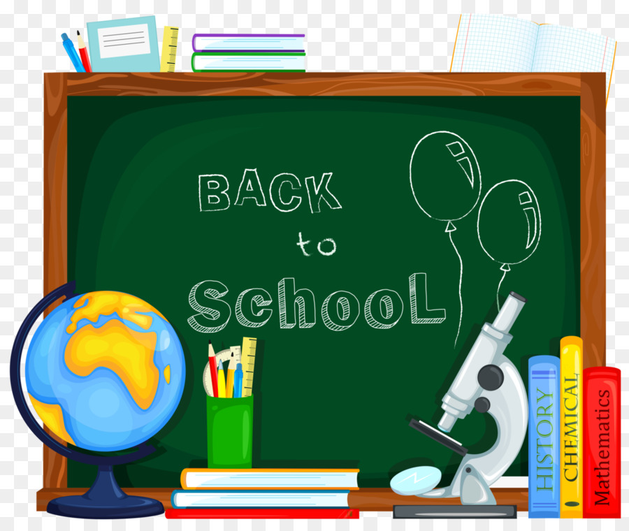 Back To School Background Green