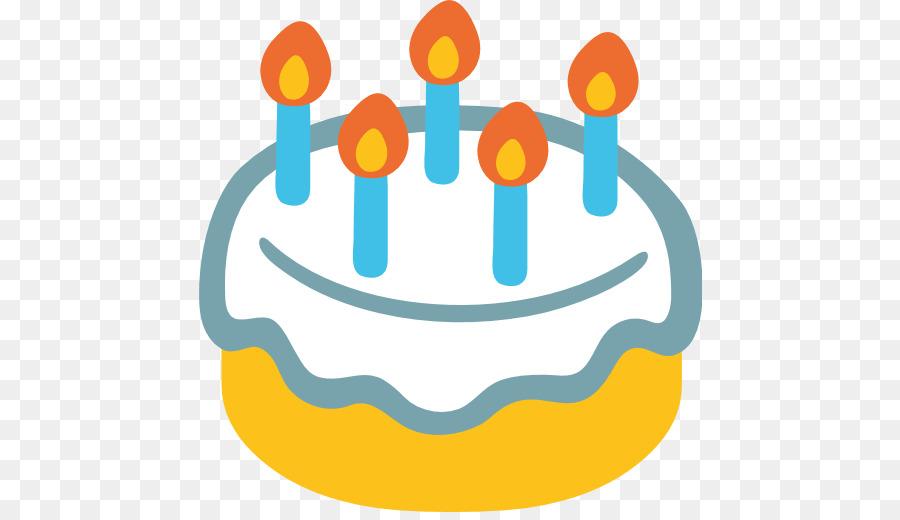 Birthday Cake Emoji Png Clipart Clip Art