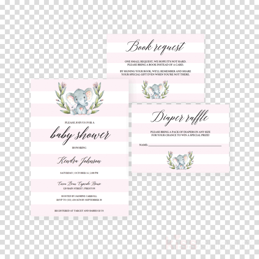 Baby shower clipart Wedding invitation Baby shower Party