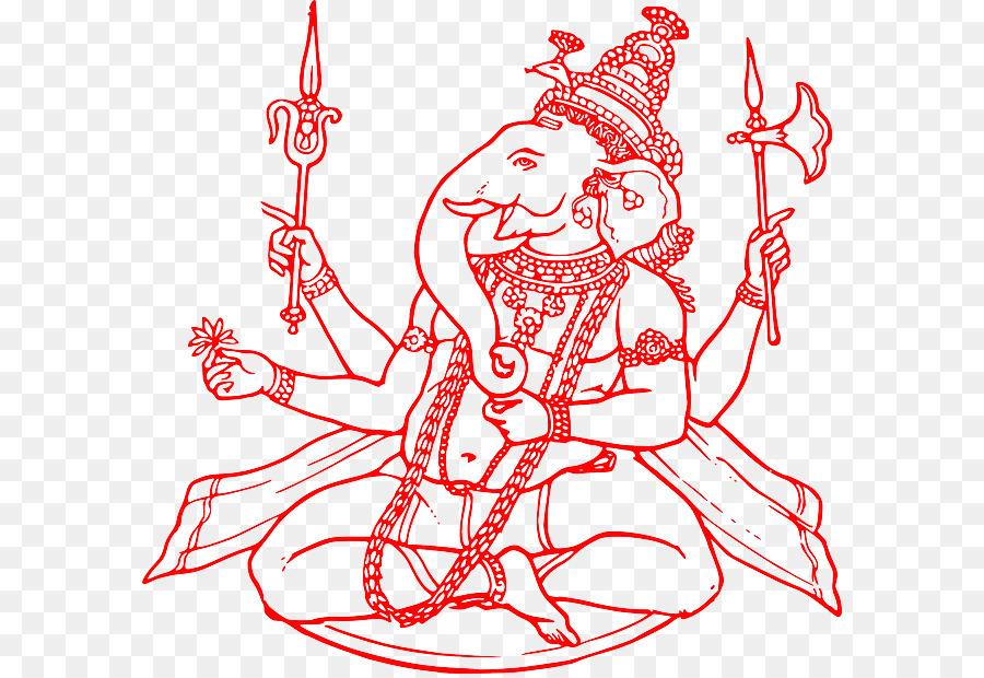 ganesha black and white clipart Ganesha Mahadeva Clip art