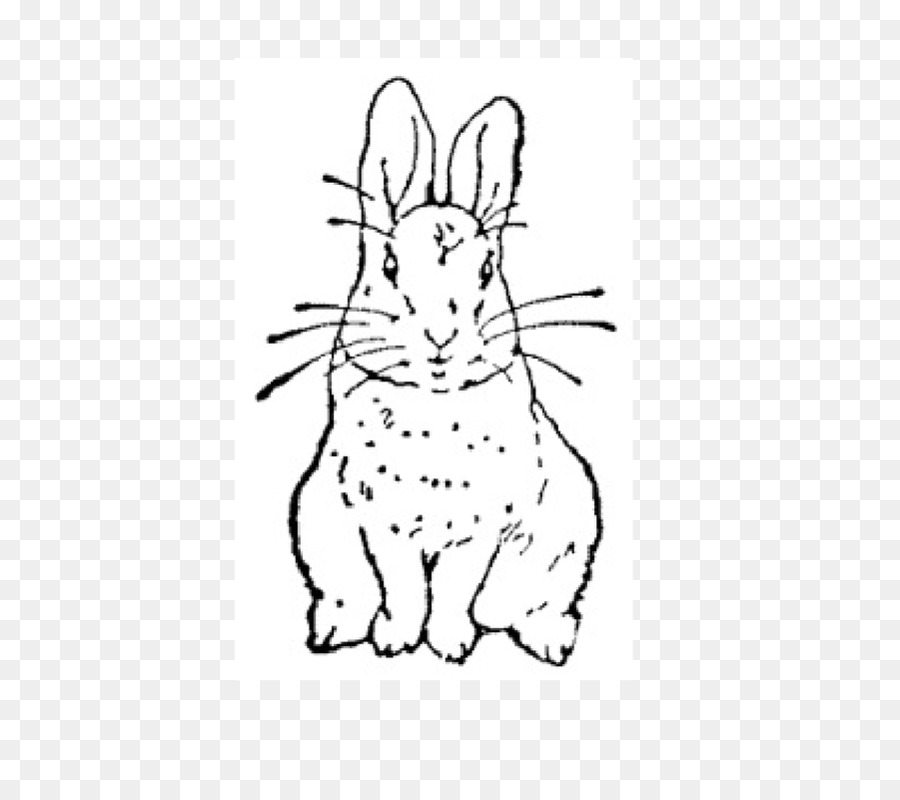 The Tale of Peter Rabbit clipart Domestic rabbit The Tale of Peter Rabbit
