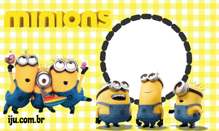 Printable Happy Birthday Card Minions Clipart Wedding Invitation Greeting Note Cards