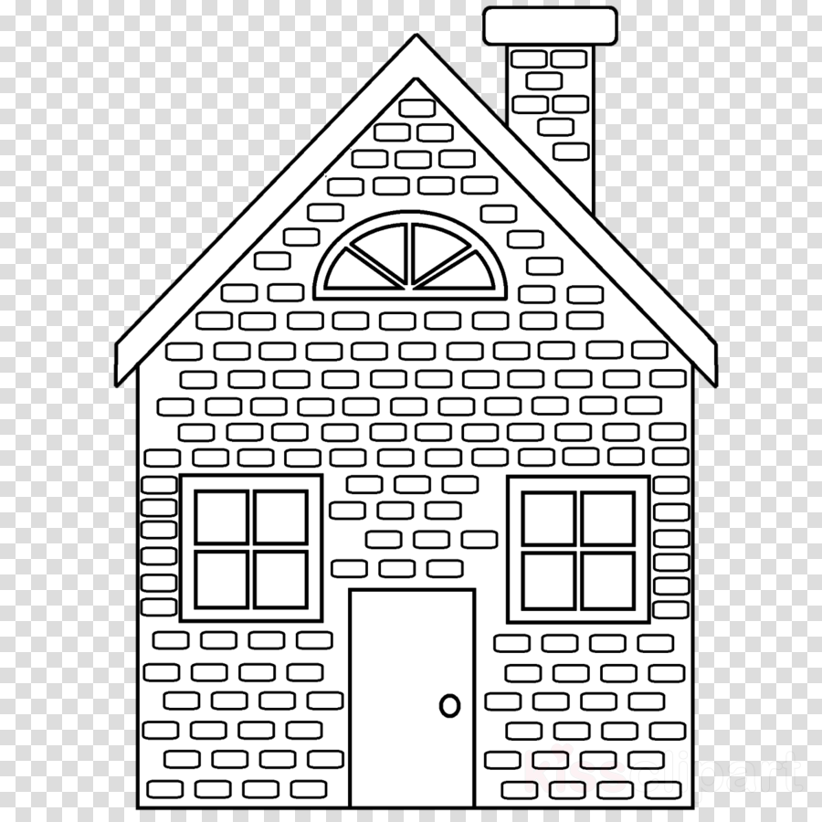 Brick house coloring page clipart coloring book colouring pages brick