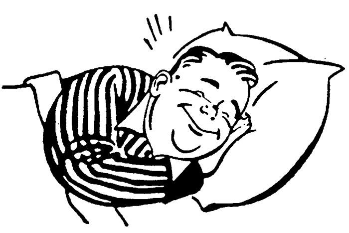 clipart resolution 700 467 sleeping clip art clipart sleep drawing