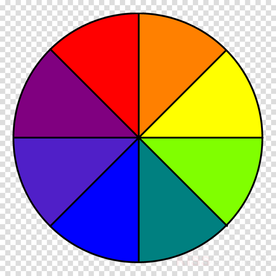 color wheel 8 colors clipart Color wheel Complementary colors
