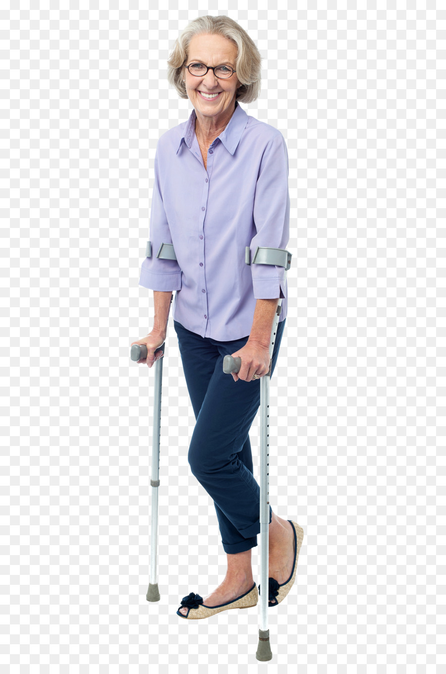 standing clipart Crutch Disability Old age
