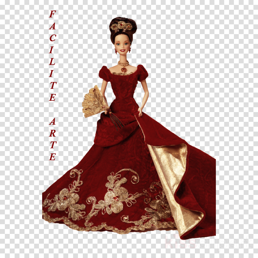 gown clipart Gown Barbie Dress