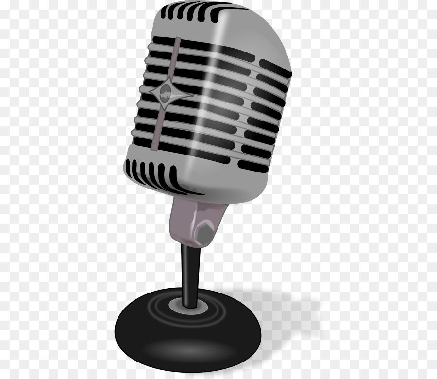 Microphone Cartoon