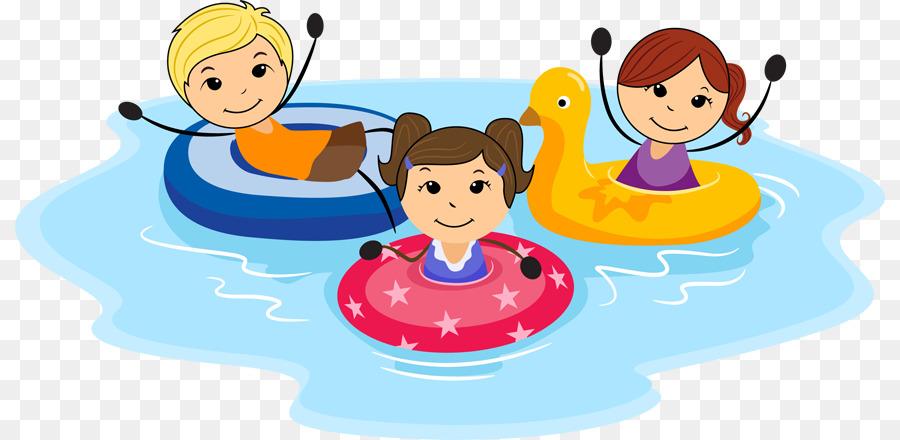 Swimming Cartoon Clipart Child Cartoon Play Transparent Clip Art