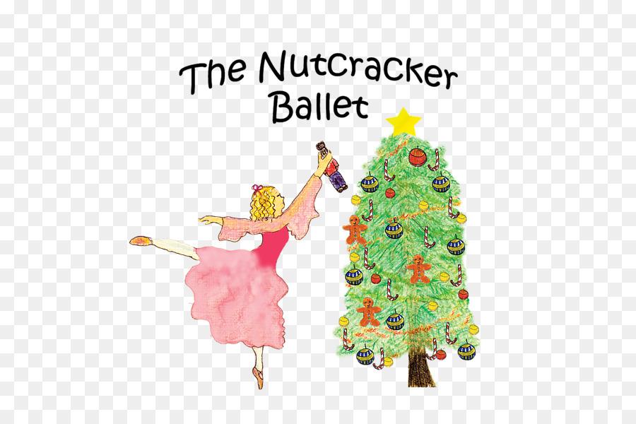 Nutcracker Christmas Tree Clipart.Christmas Tree Illustration Clipart Tree Christmas