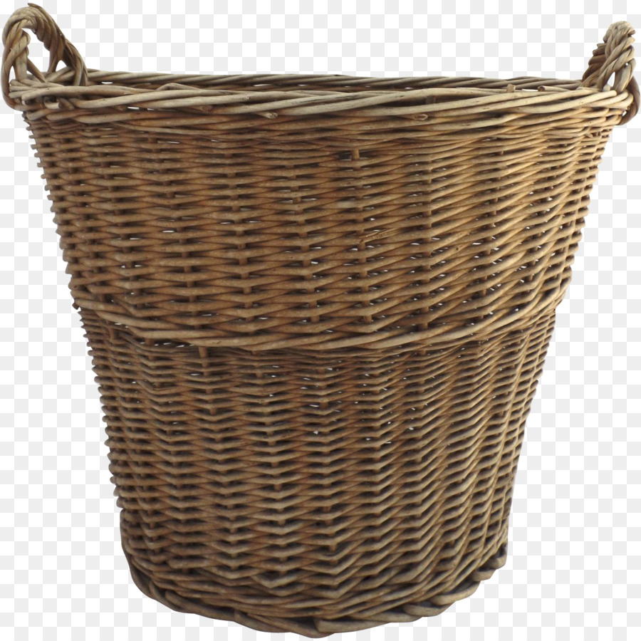 wicker clipart Basket Wicker Laundry