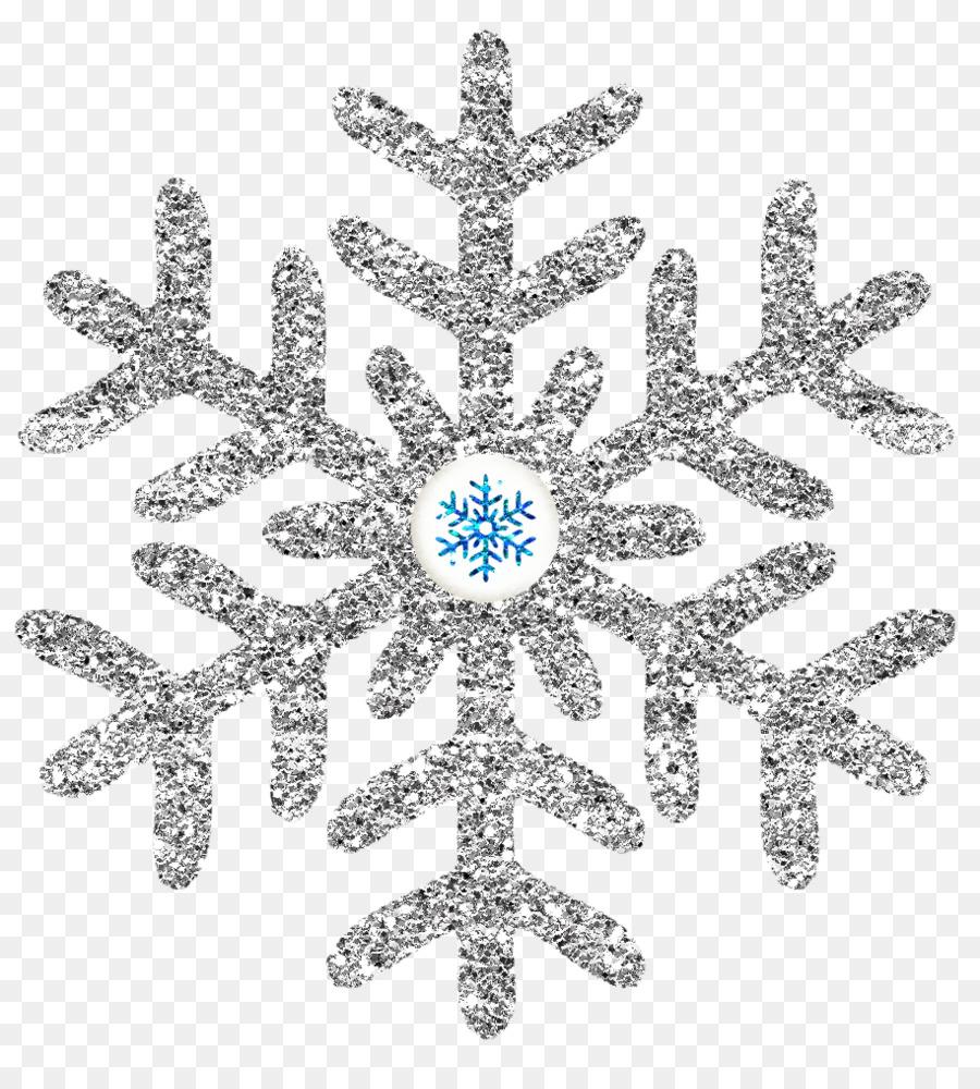 Snowflake Cartoon