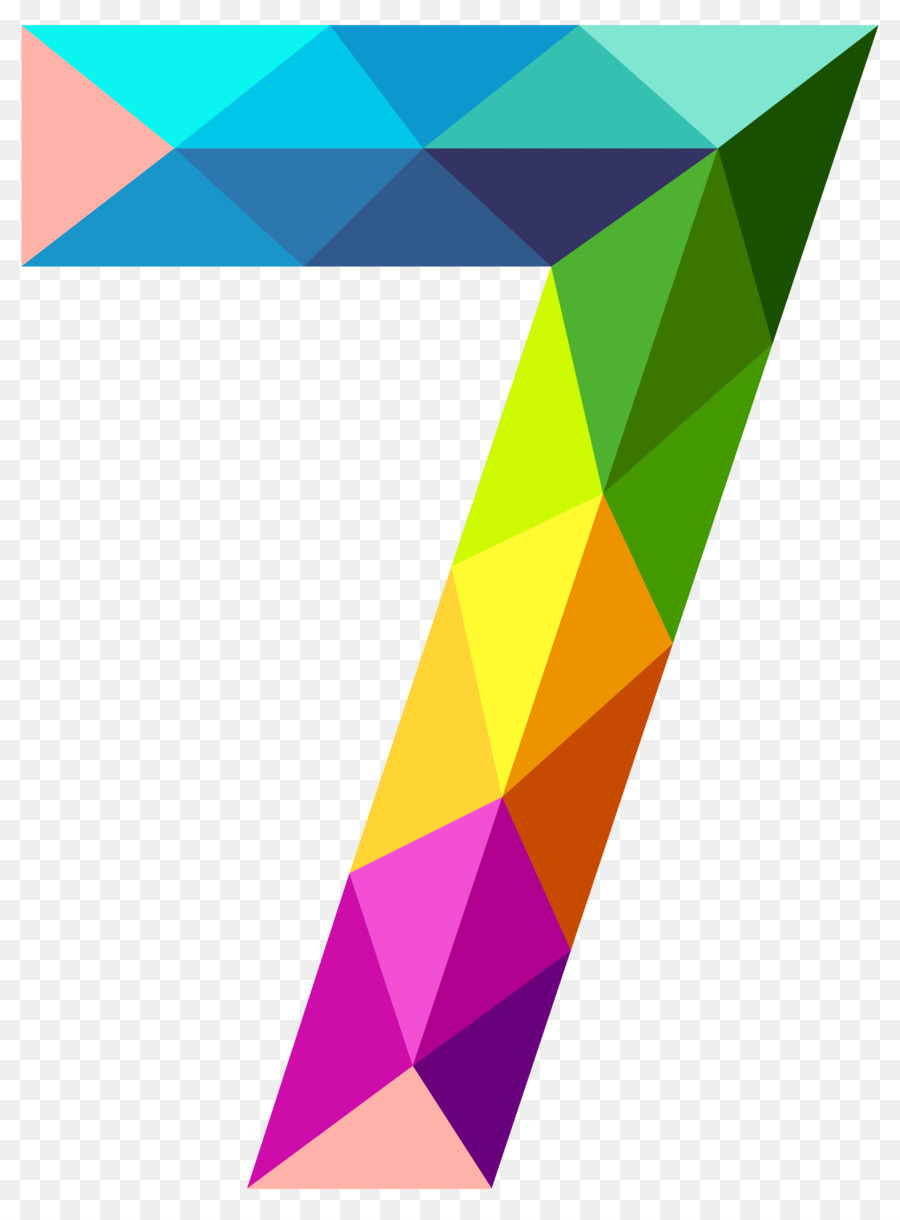 Triangle Background Clipart Triangle Number Line Transparent