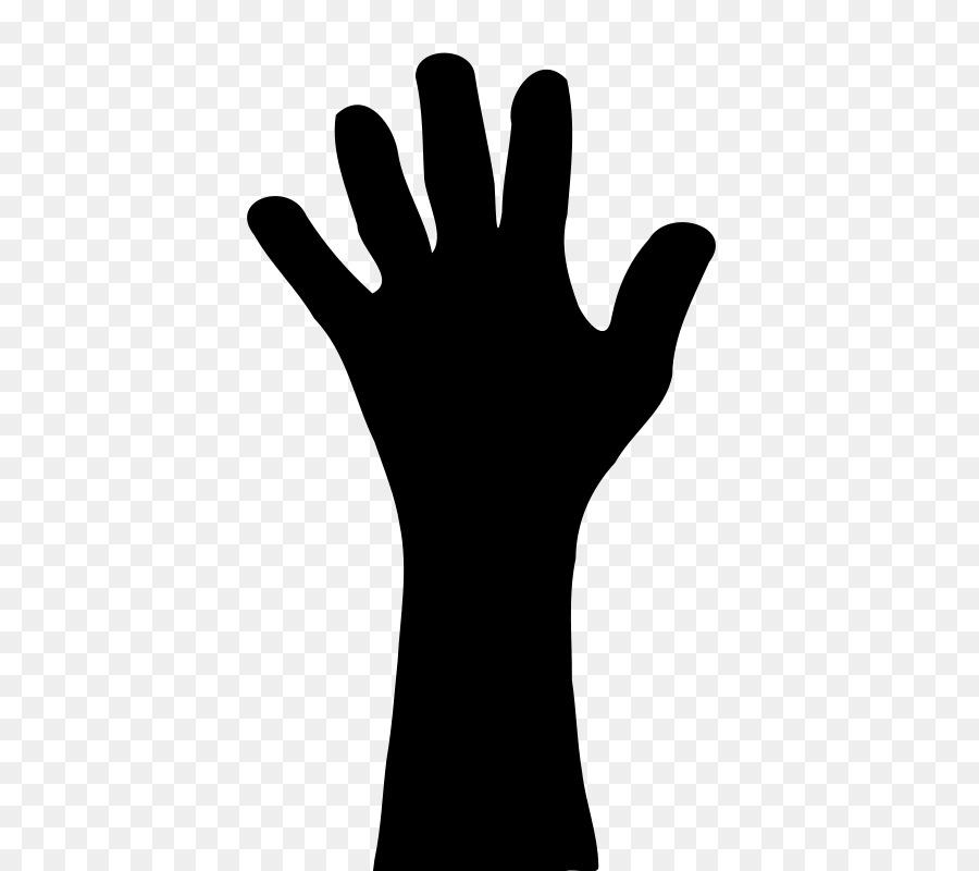 Hand transparent. Cartoon clipart clip art