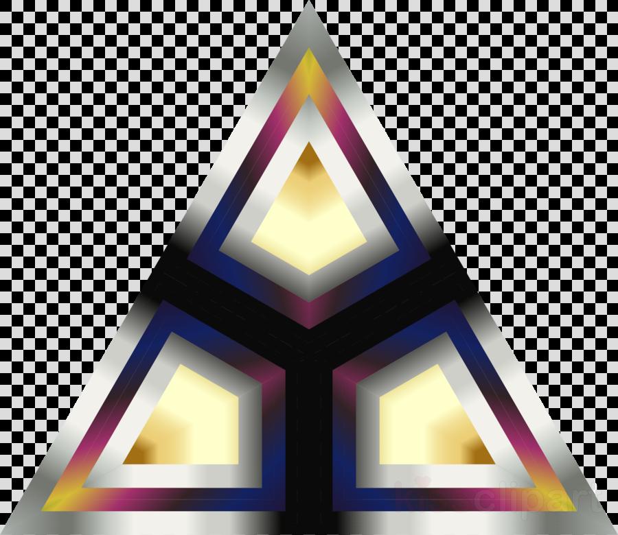 triangle clipart Triangle Purple
