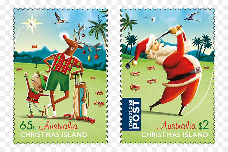 Christmas In Australia Santa.Santa Claus Cartoon Clipart Mail Illustration Graphics