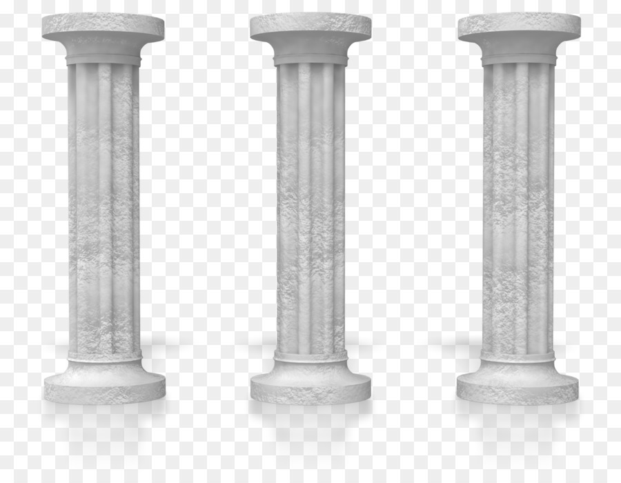pillar animation clipart Column Clip art