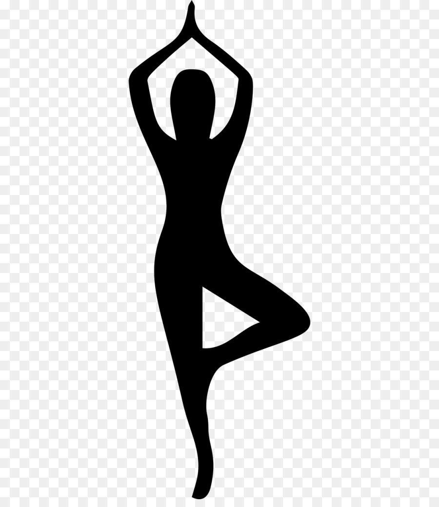 Yoga Cartoon Clipart Yoga Silhouette Line Transparent Clip Art