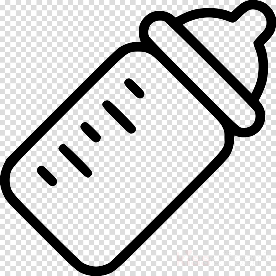 baby bottle black and white clipart Infant Baby Bottles Clip art