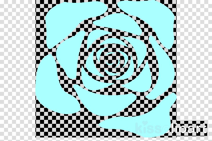 Blue clipart Blue rose Clip art