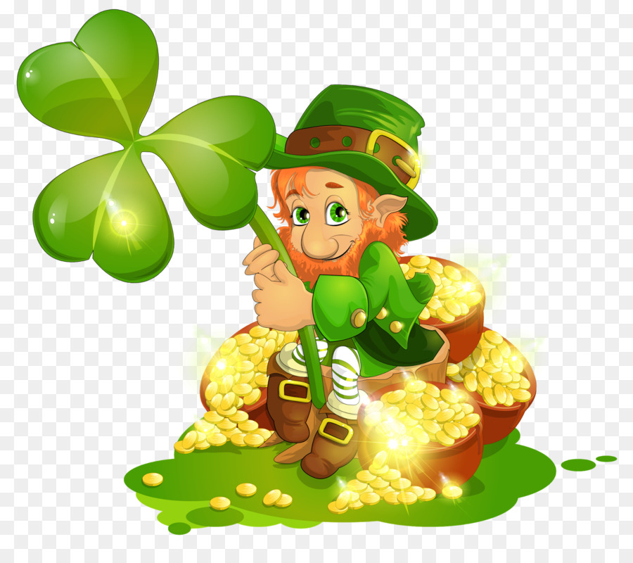Saint Patricks Day Clipart Shamrock Food Fruit