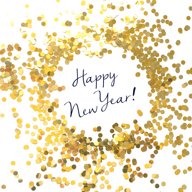 happy new year 2018 transparent clipart new year santa claus clip art