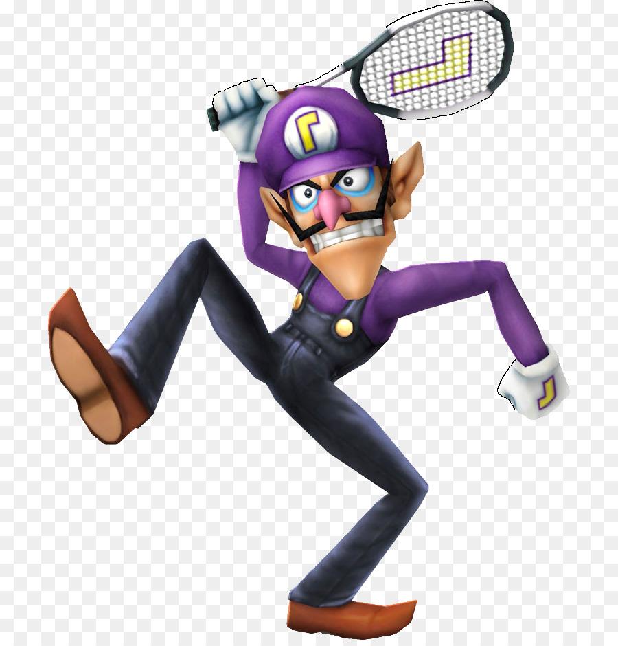 Waluigi smash. Purple graphics transparent png