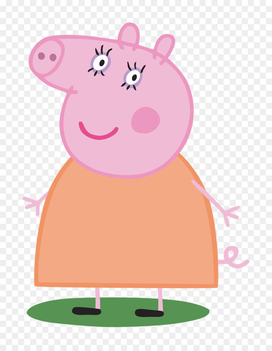 peppa pig personajes clipart Daddy Pig George Pig