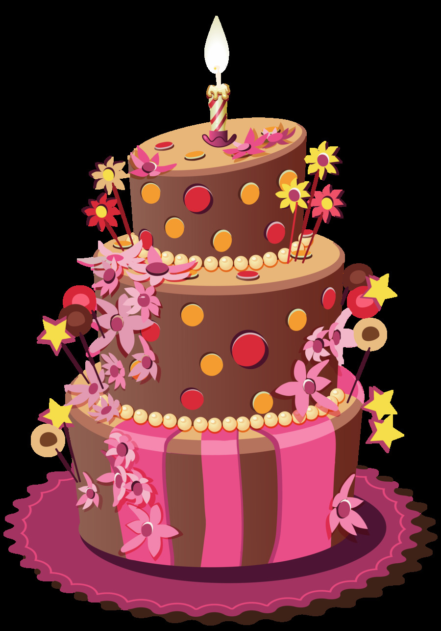 Download Happy Birthday Card Png Clipart Birthday Cake Greeting